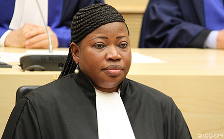 ICC prosecutor swearing in ceremony june 2012
