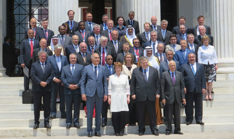 Minister Donohoe attends ministerial meeting EU and Arab league states