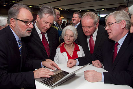Ministers launch Online Records of Ireland's First World War casualties