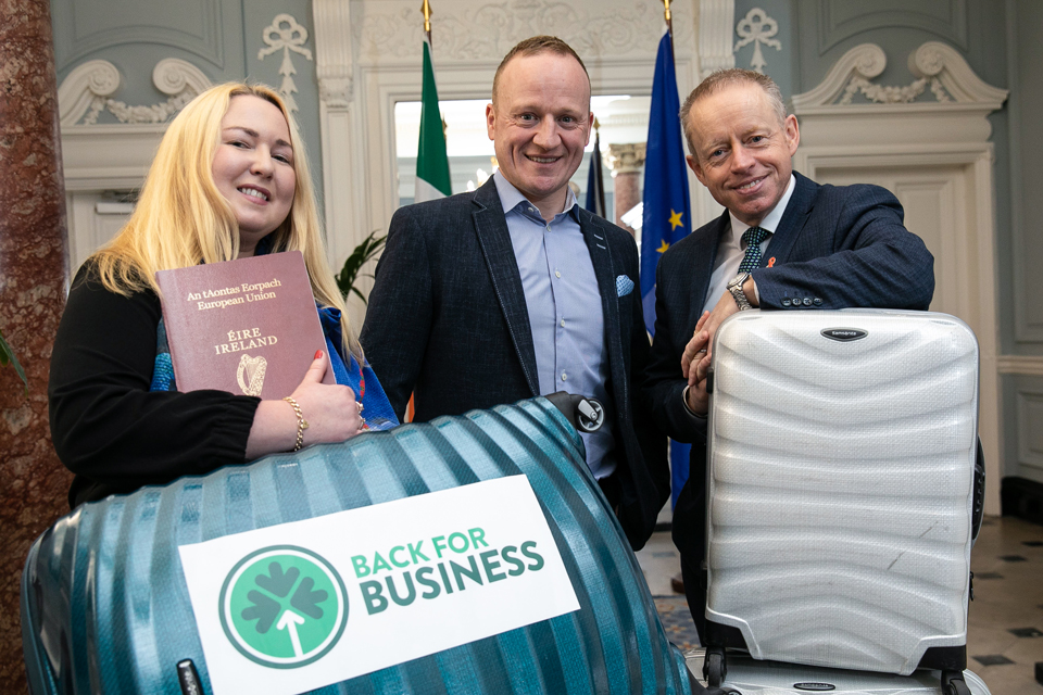 Minister Cannon launches 'Back for Business' a programme to support returning emigrants